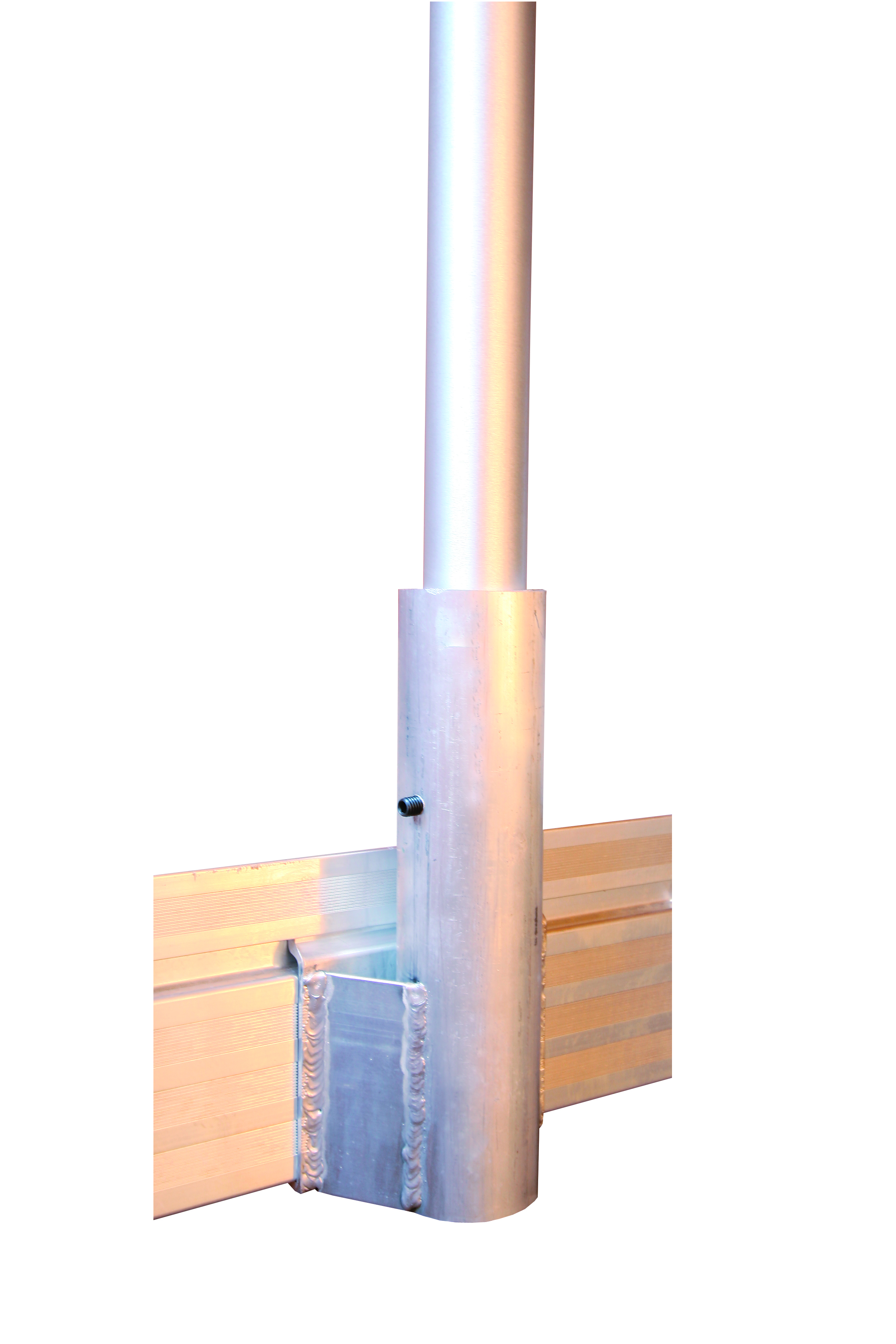 dock flag pole holder